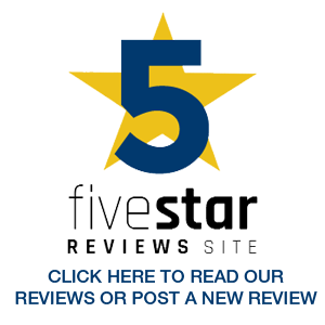 Five Star Review Badge